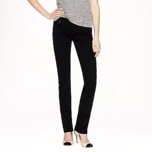 J Crew Factory Matchstick Jean in Pitch Black Wash